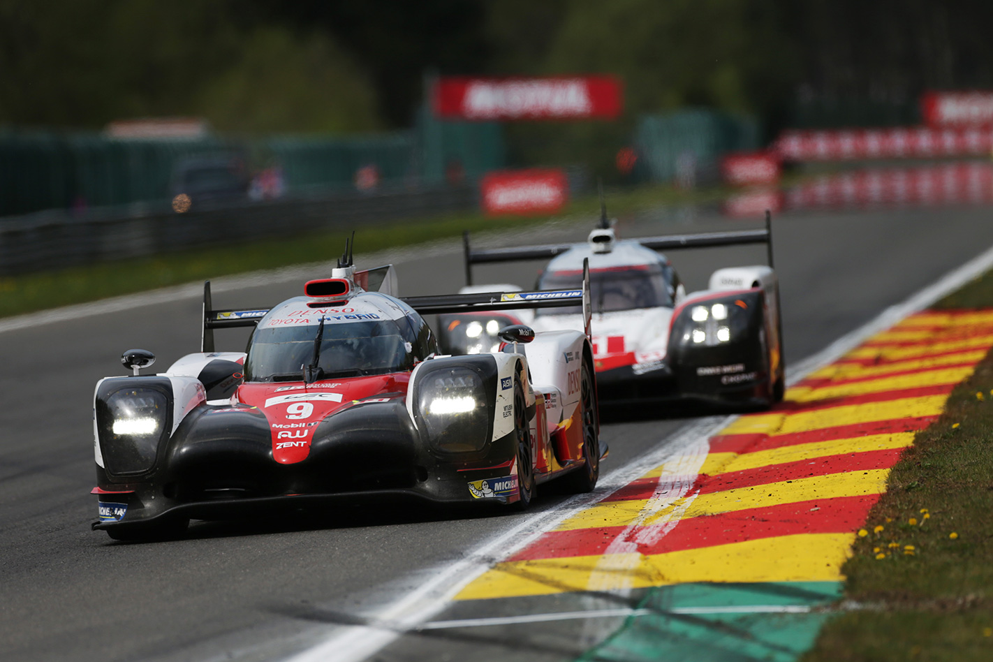 Toyota wins 2017 WEC 6 Hours of Spa