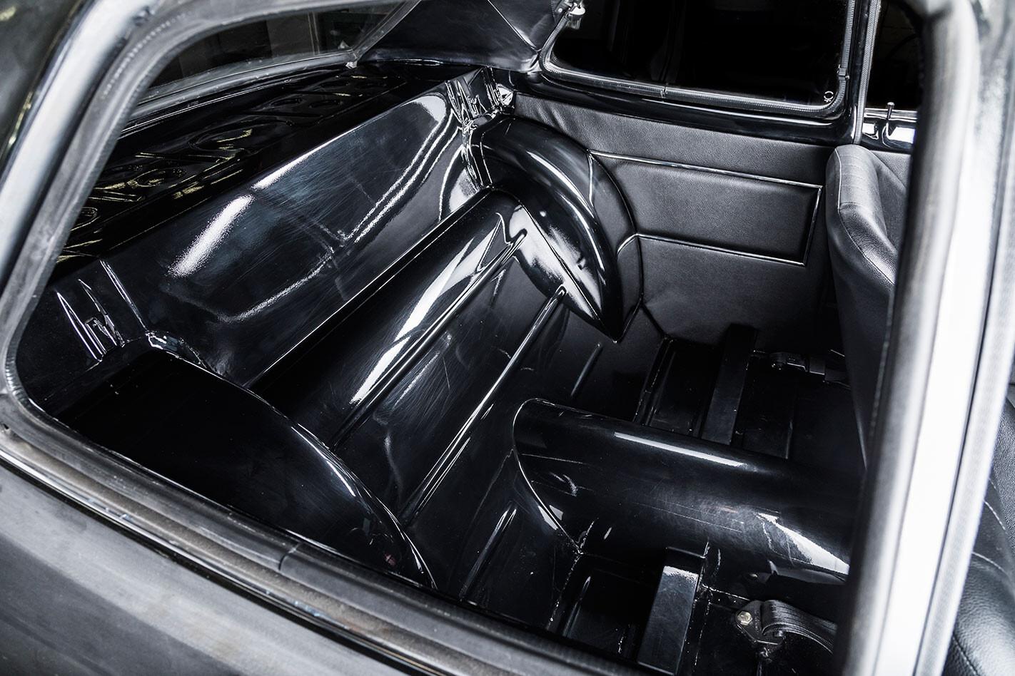 Holden LC Torana interior rear