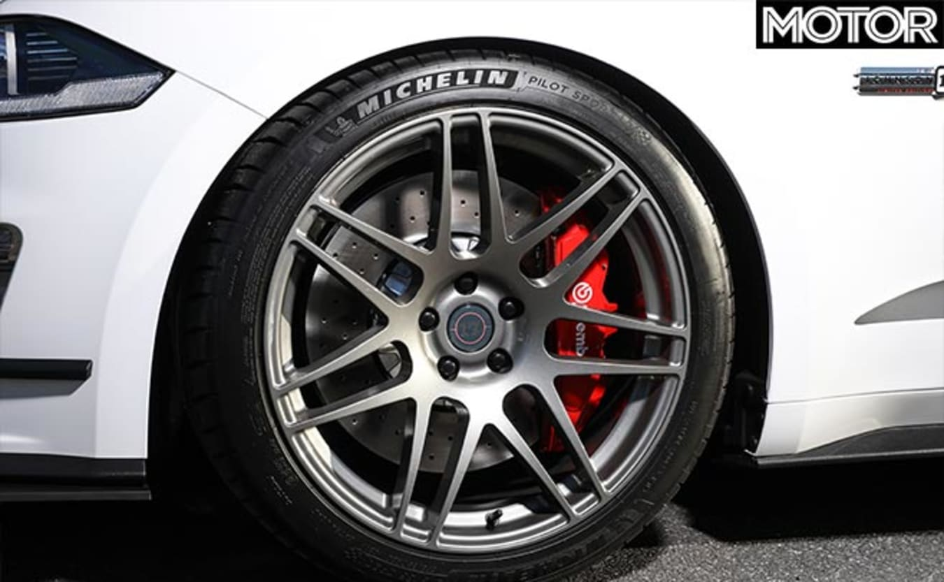Mustang Dick Johnson Limited Edition wheels