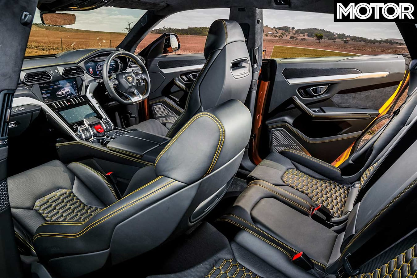 2019 Lamborghini Urus Interior Jpg