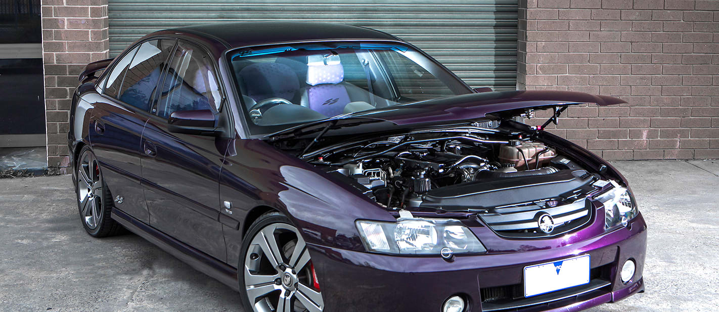 VY Commodore SS turbo