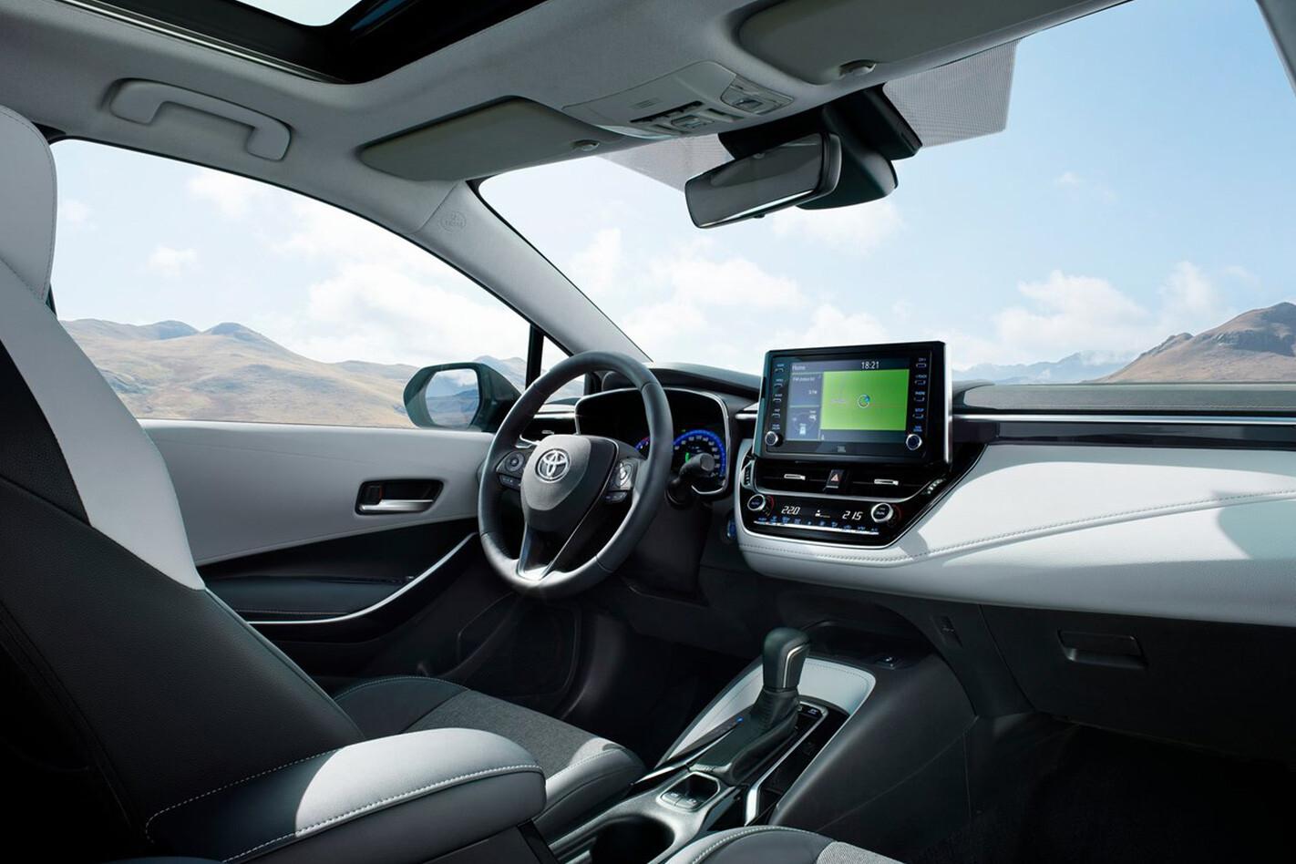 Toyota Corolla Wagon Interior Jpg