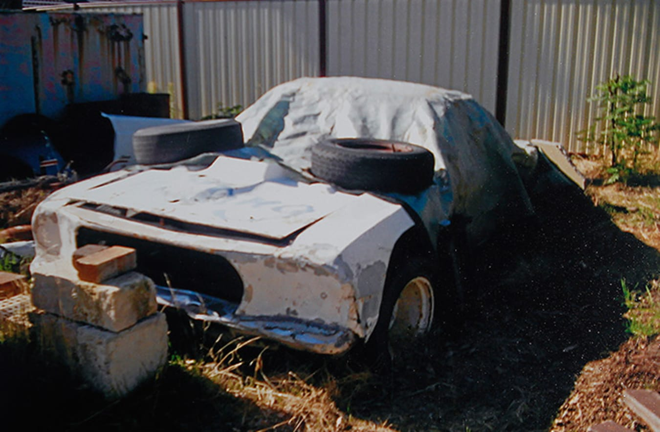 Speedway Mustang - before