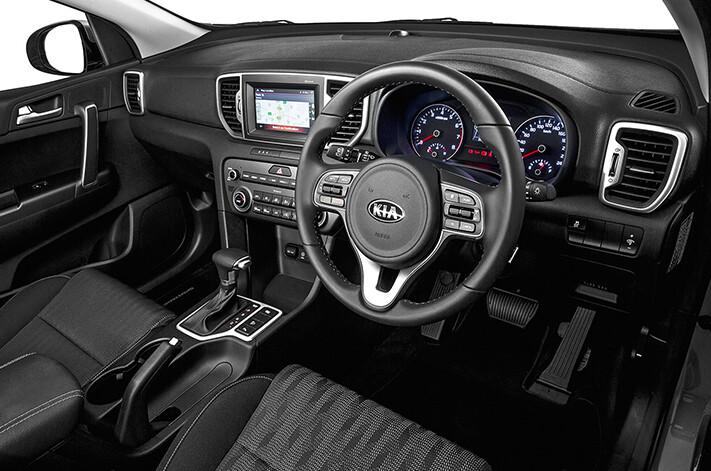 Kia Sportage Si Premium Interior Jpg