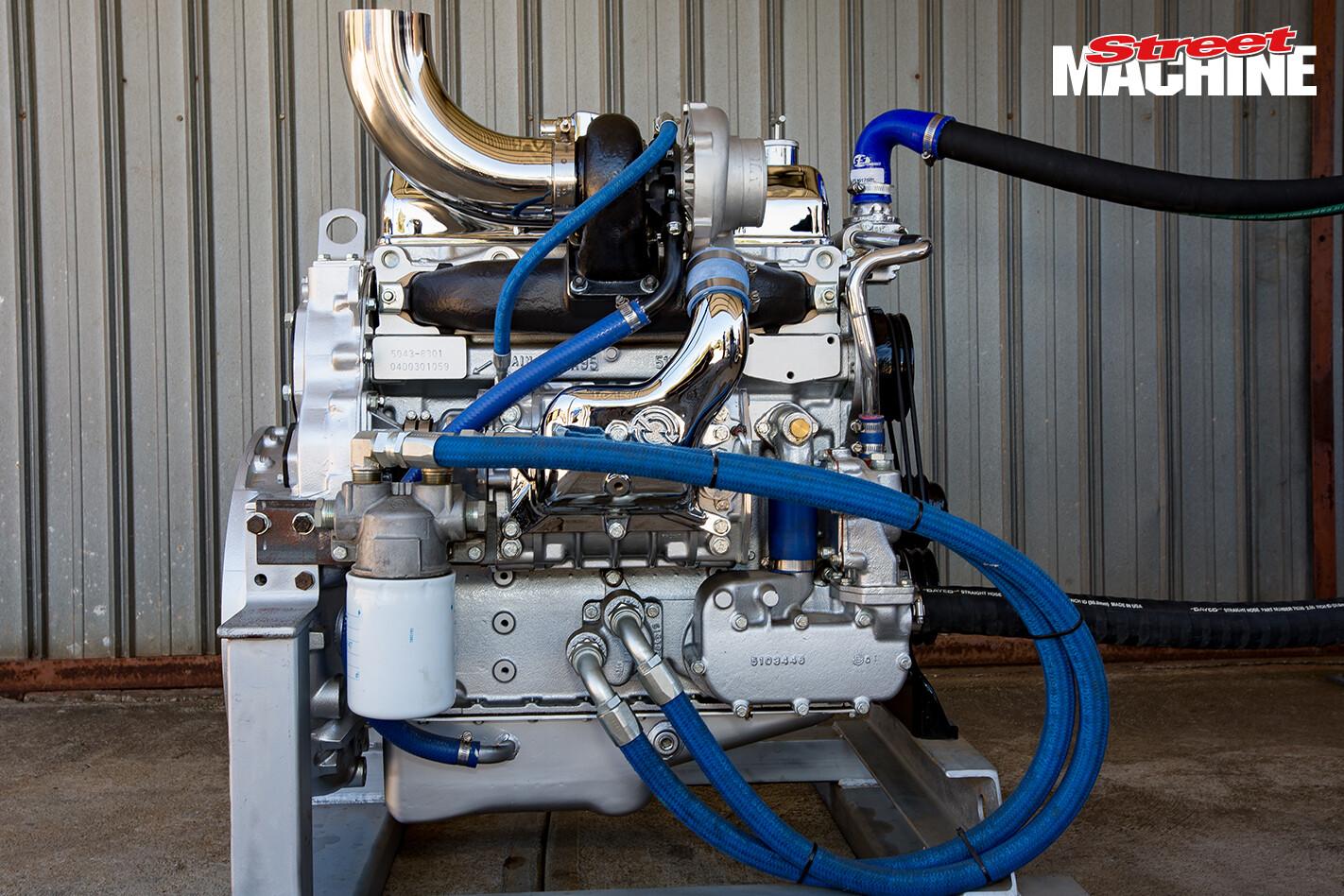Detroit Diesel 453T Engine 1