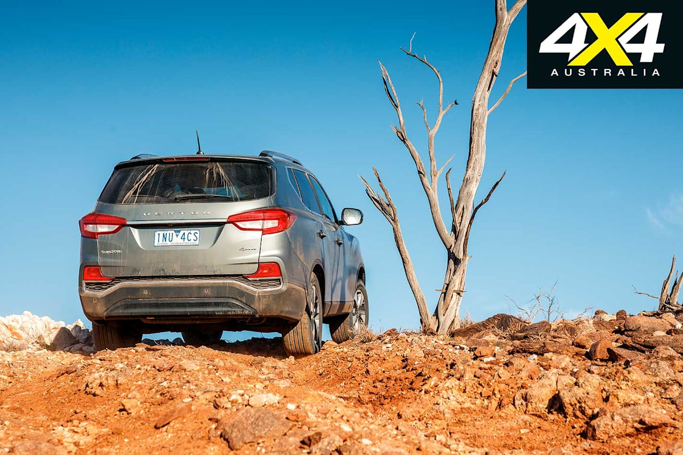4 X 4 Of The Year 2019 Ssang Yong Rexton ELX Rear Jpg