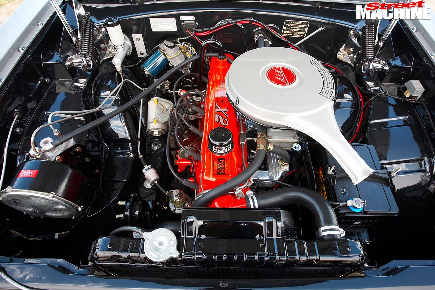 Holden -HD-van -engine -2