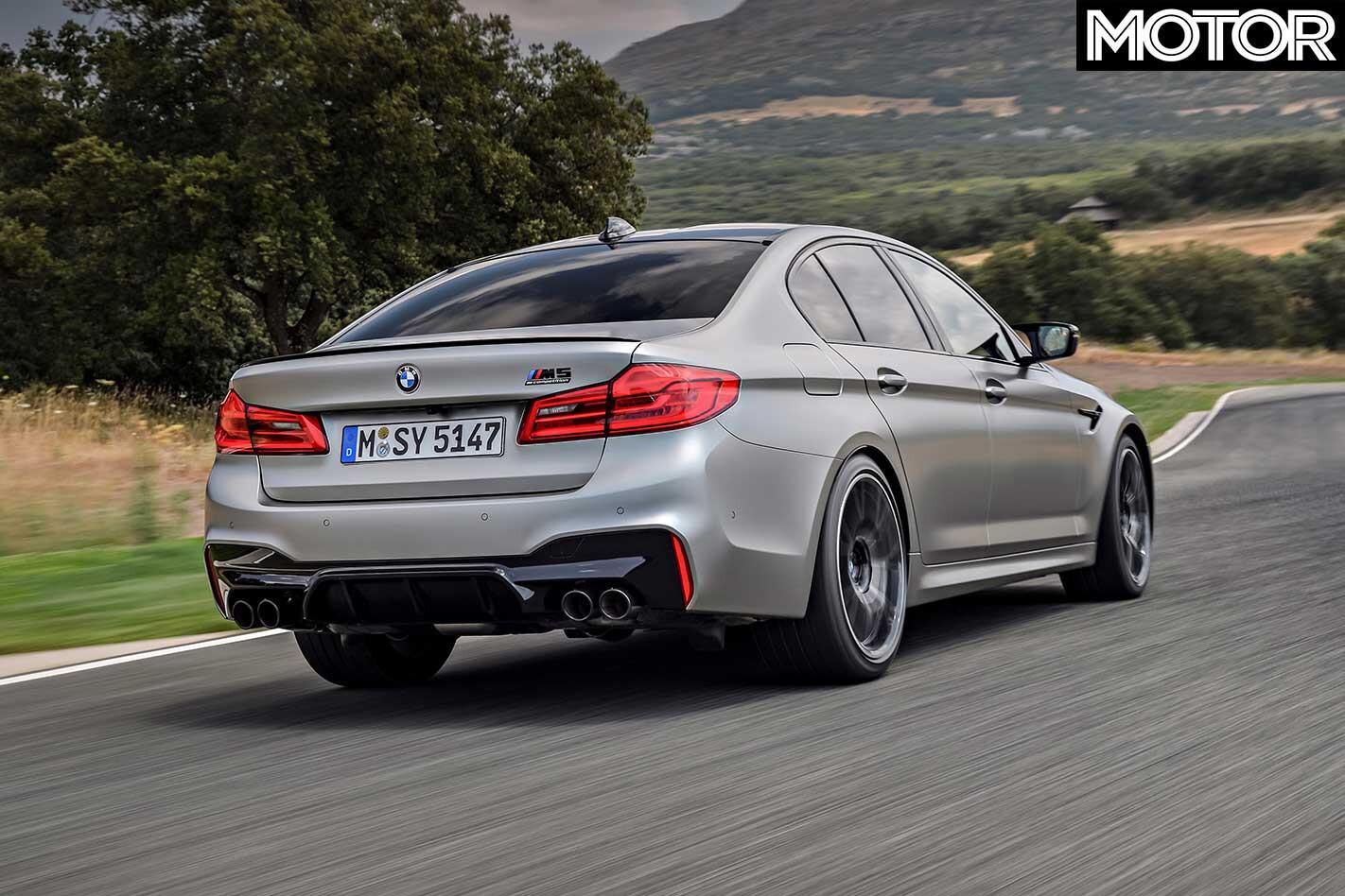 BMW M 5 Competition Rear Jpg