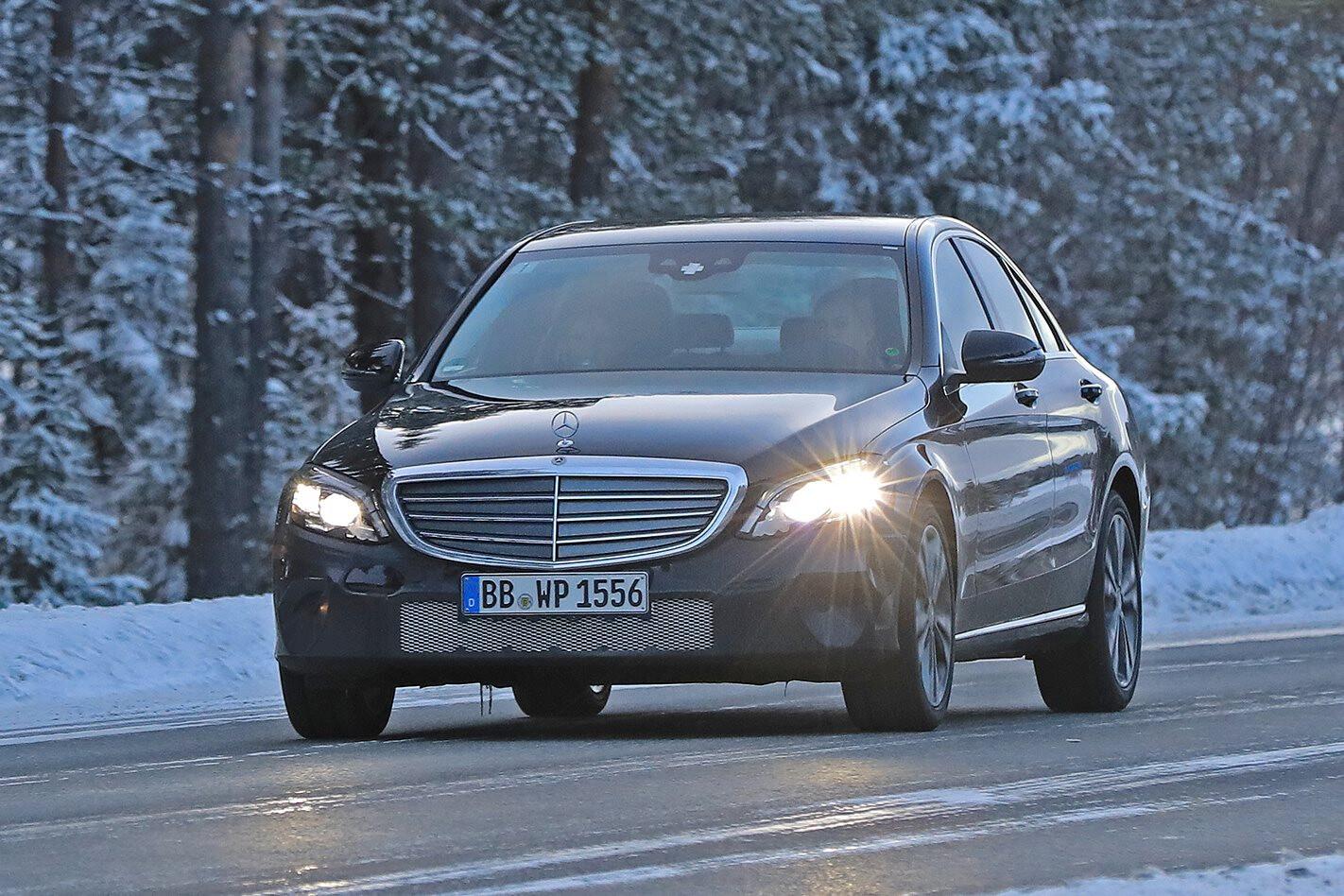 2017 Mercedes-Benz C-Class facelift