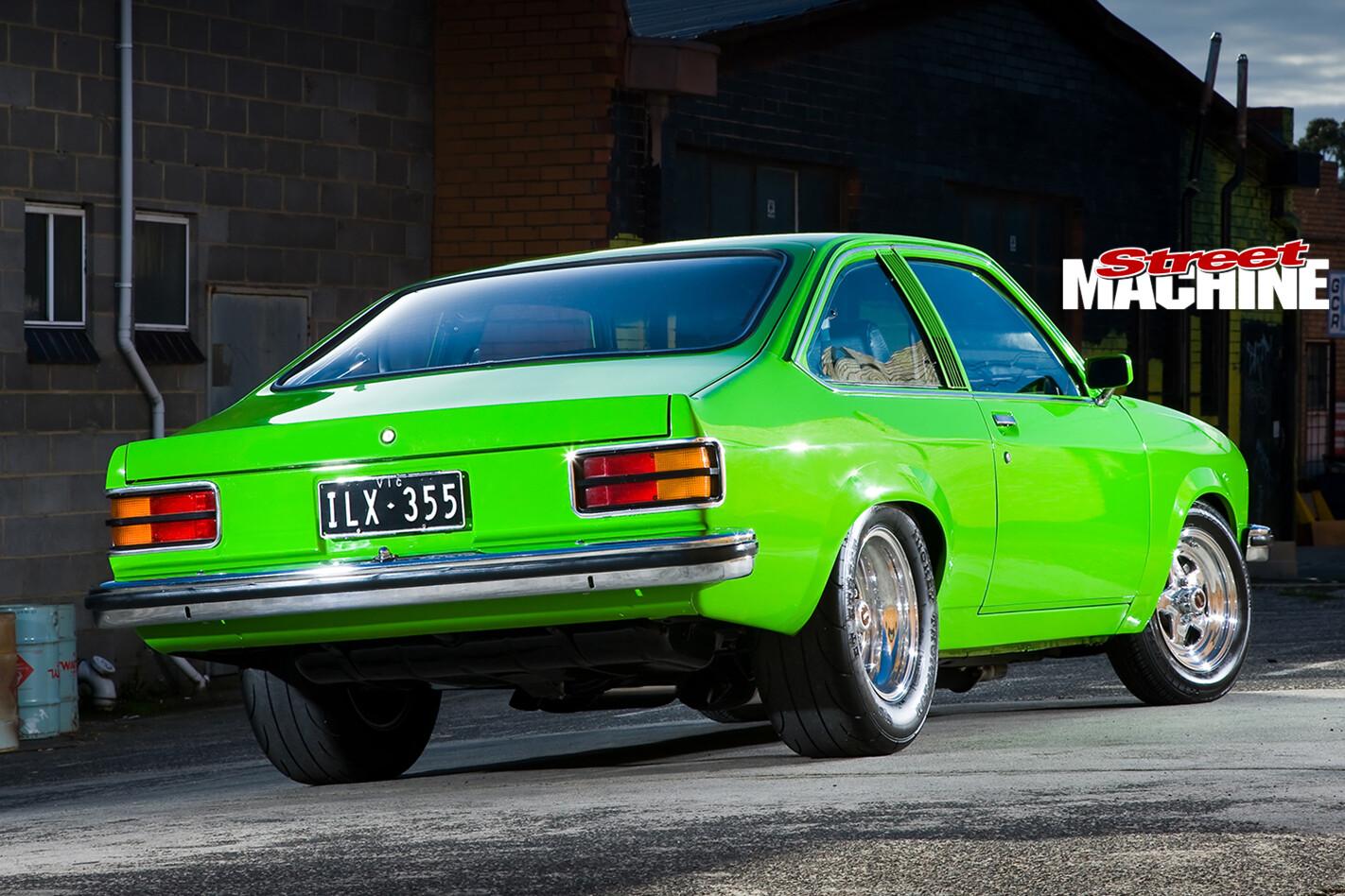 Holden -Torana -LX-Hatch -front -rear