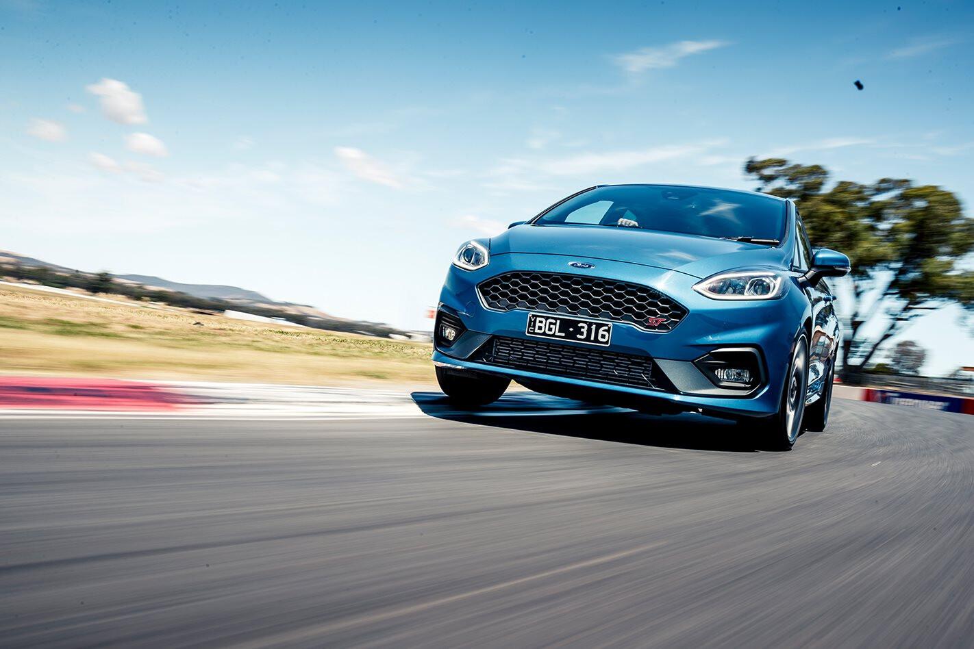 Ford Fiesta ST hot lap