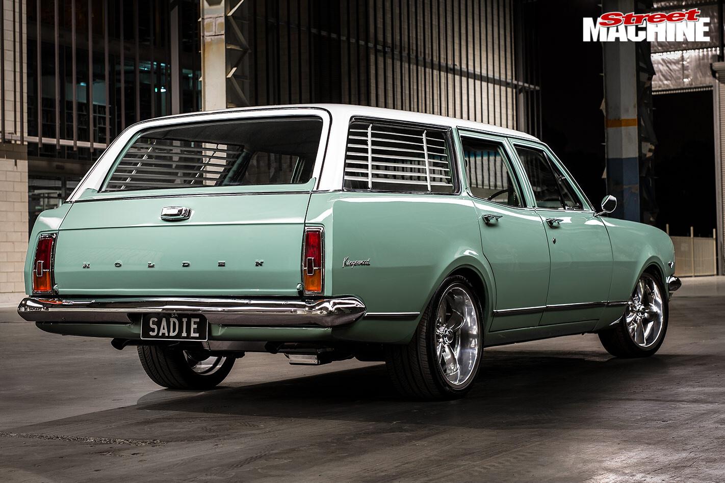 Holden HK wagon rear