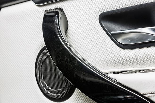 White BMW Door Lining