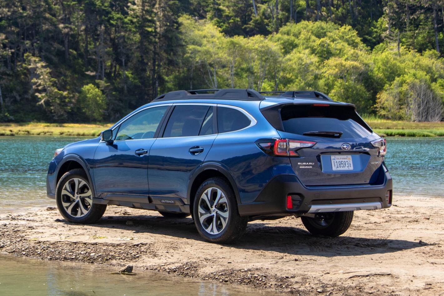 2021 Subaru Outback Touring US version