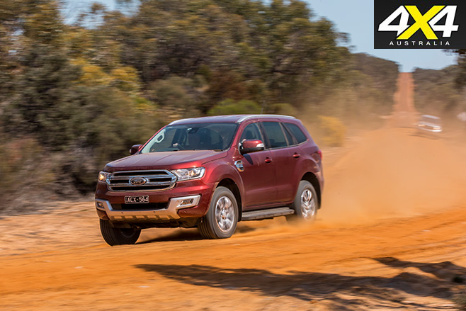 Ford everest driving