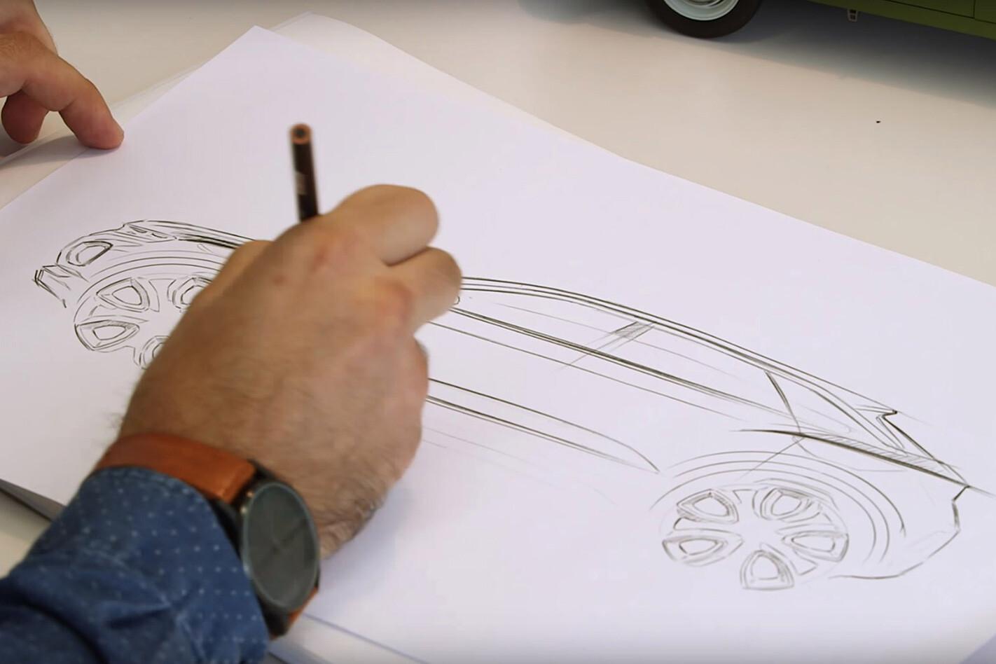Volkswagen T Roc Design Teaser Sketch Jpg