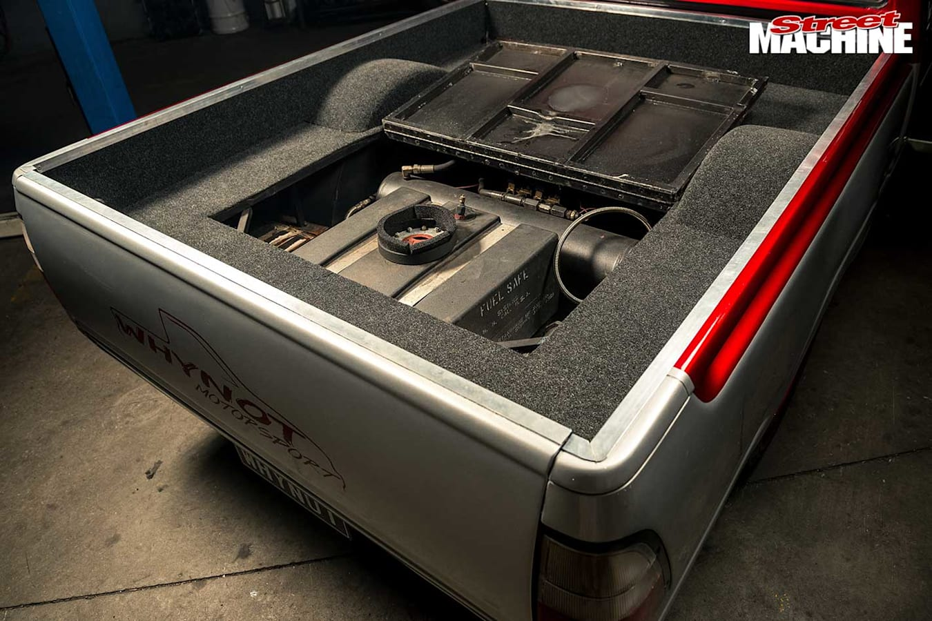 LS-powered Rodeo tray
