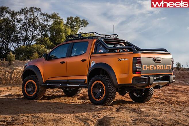 Chevrolet -Colorado -Xtreme -rear -side