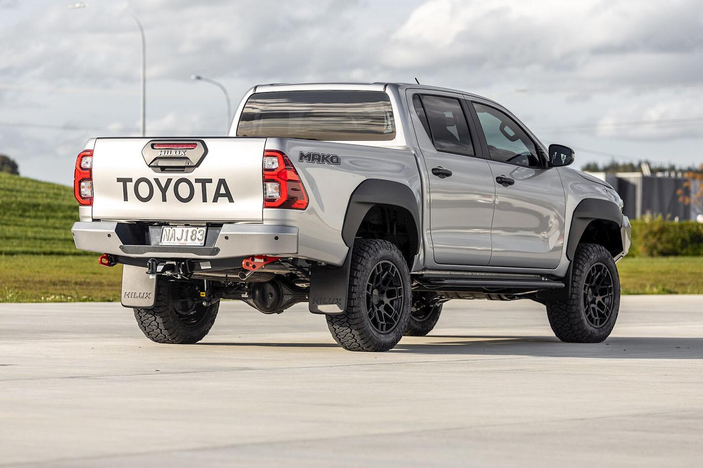 Toyota Hilux Mako rear
