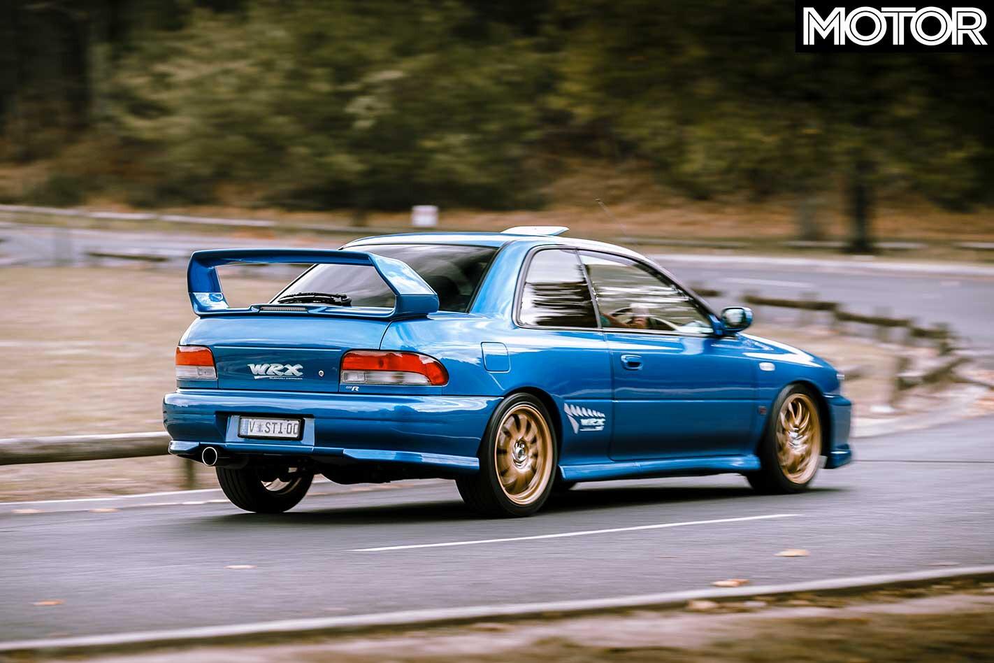 2000 Subaru Impreza WRX S Ti Type R Rear Handling Jpg