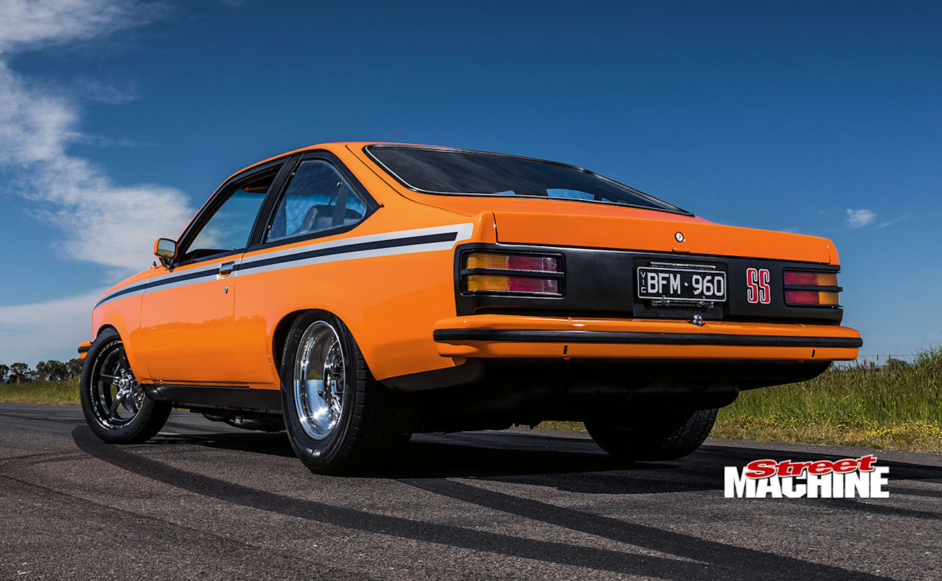 Holden LX Torana hatch rear