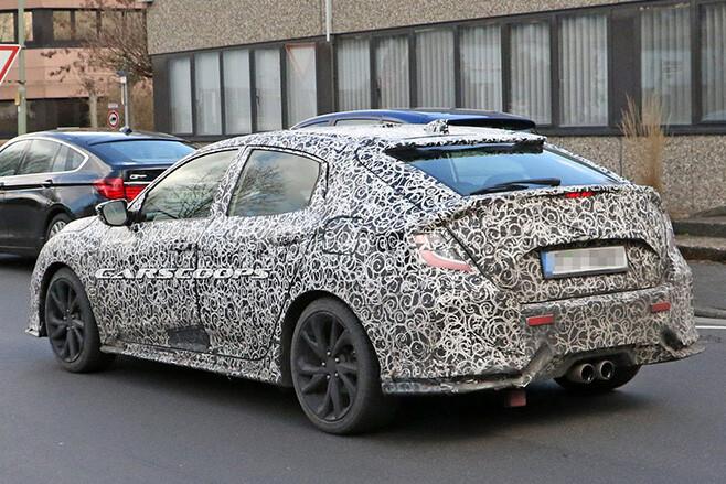 Honda Civic Spy