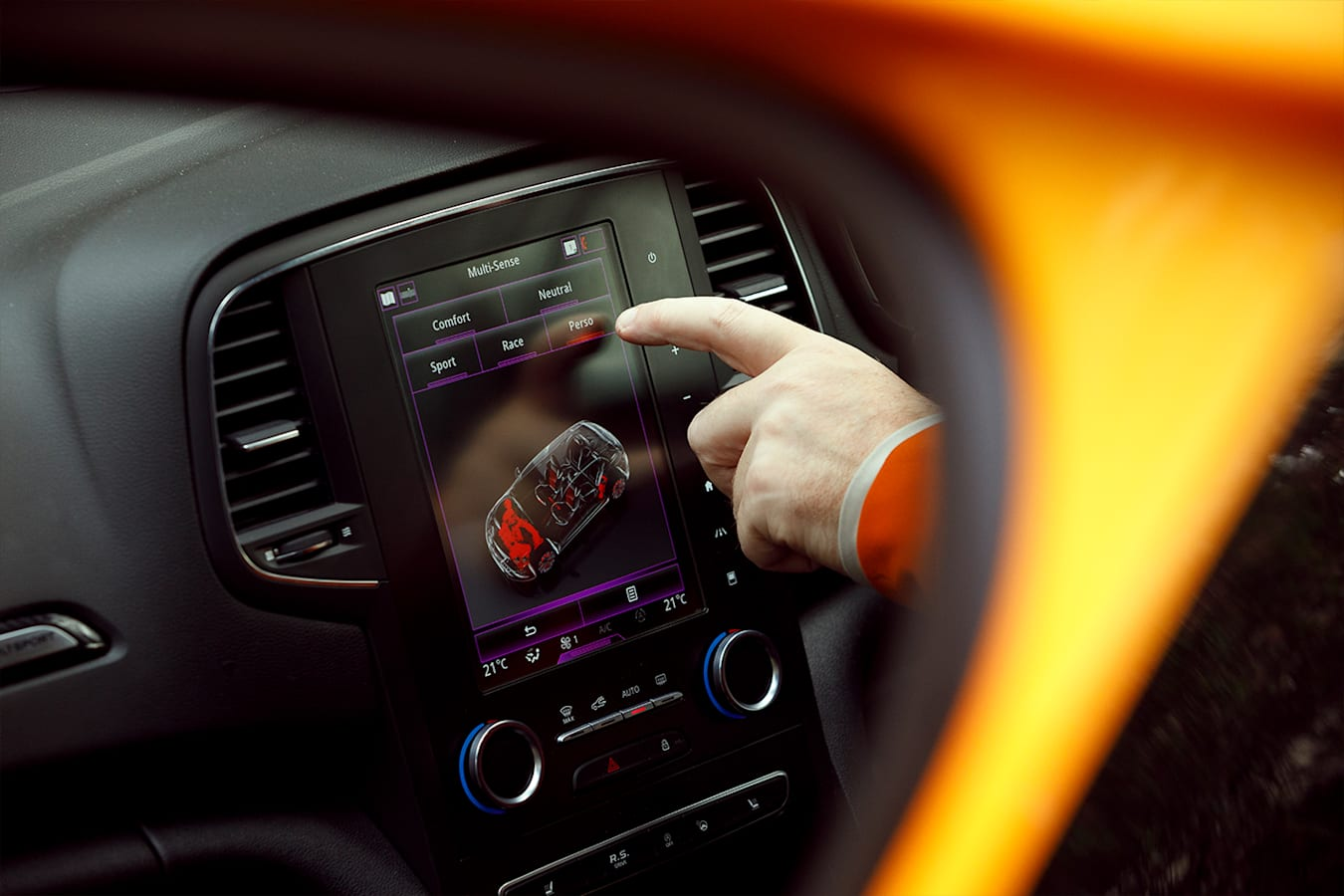 Renault Megane RS 280 Cup Infotainment Jpg