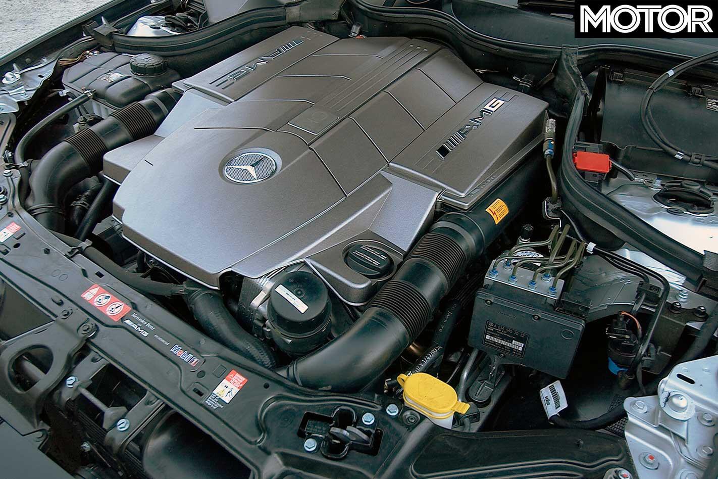 2005 Mercedes Benz C 55 AMG Engine Jpg