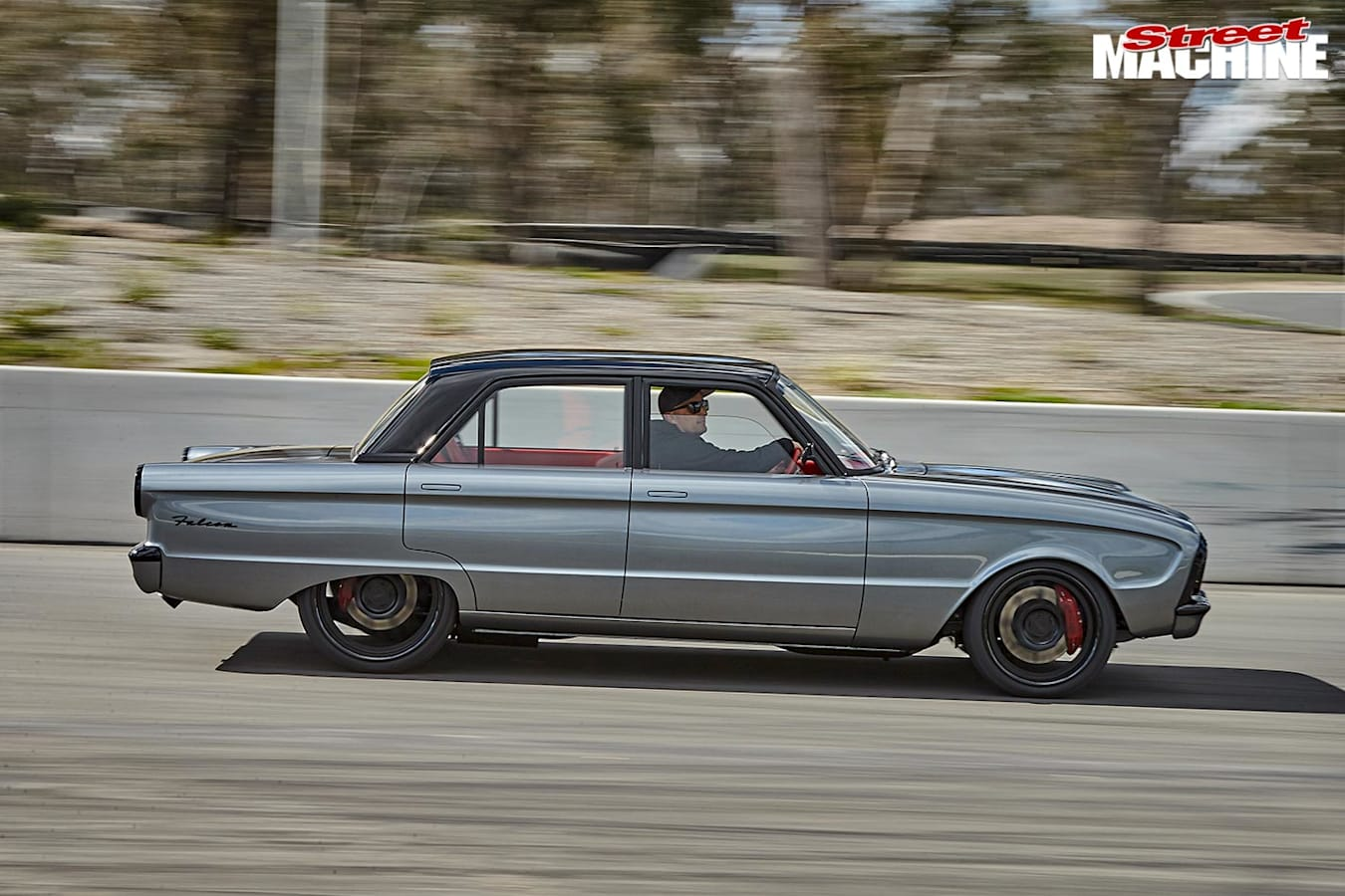 Ford XM Falcon driving