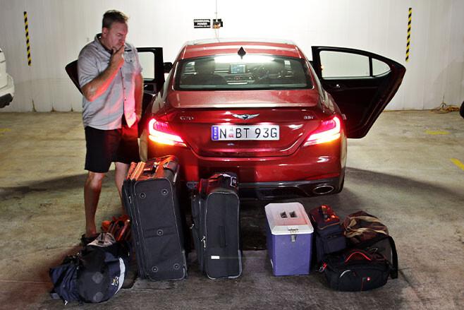 Ash Westerman G70 luggage