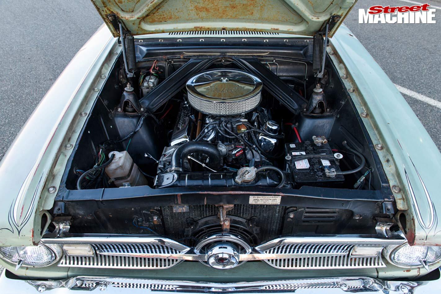 Ford Falcon XM engine bay