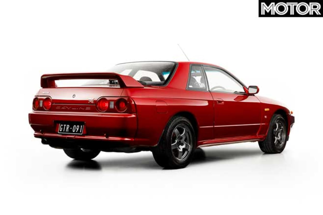 1991 Nissan R 32 Skyline GT R Rear Jpg