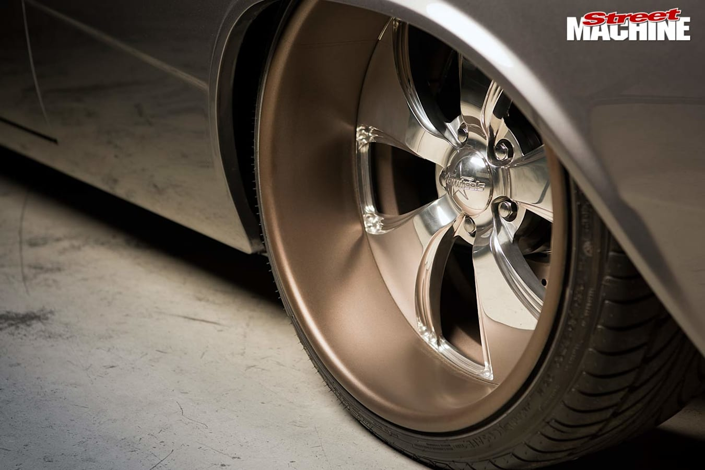 Ford Galaxie wheel