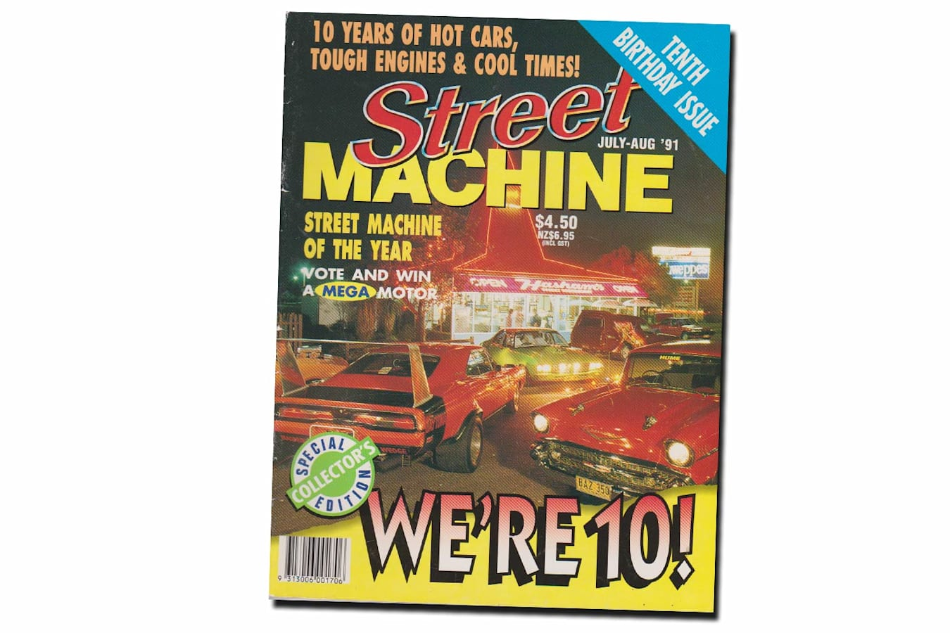 July August 1991 Street Machine cover