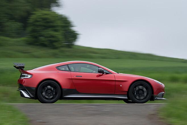 Aston -Martin -Vantage -GT8-driving -side