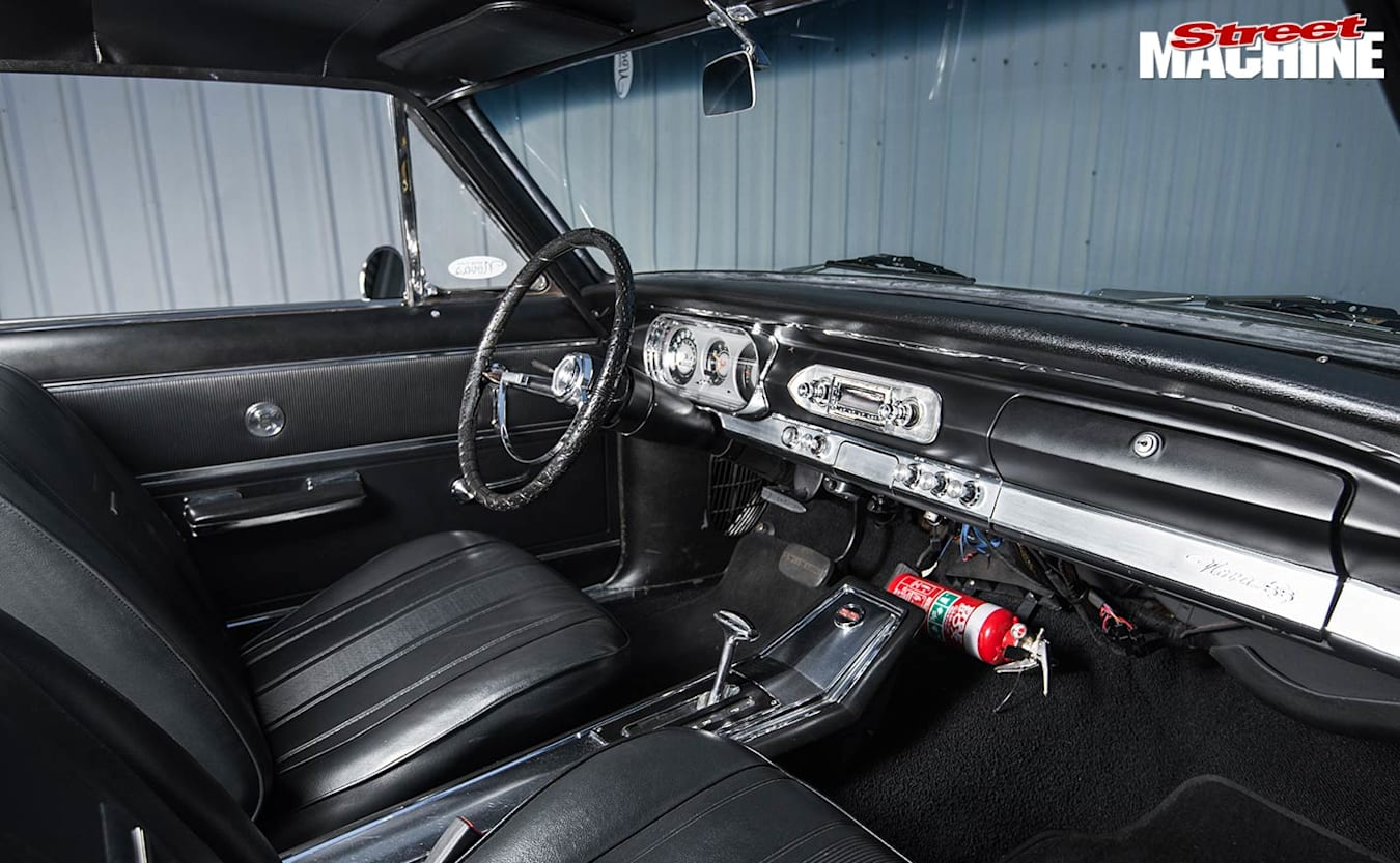 Chevy Nova interior