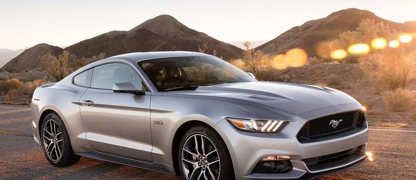 Ford Mustang Front Parked Jpg