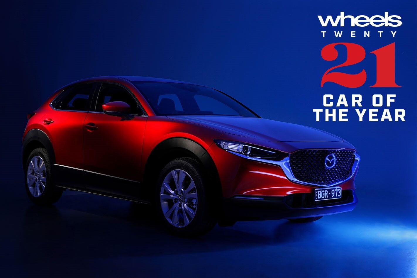 2021 Wheels Car of the Year winner Mazda CX-30