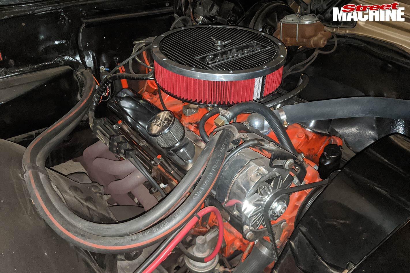 Chev El Camino engine bay