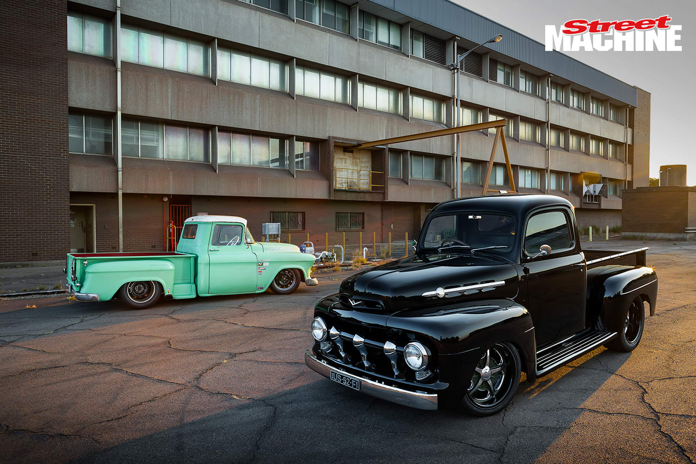 52 Ford F1 Pick Up Nw