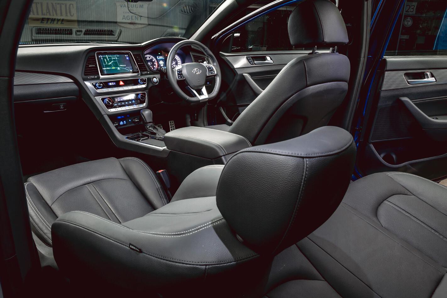 Mid Size Sedan Hyundai Interior Jpg