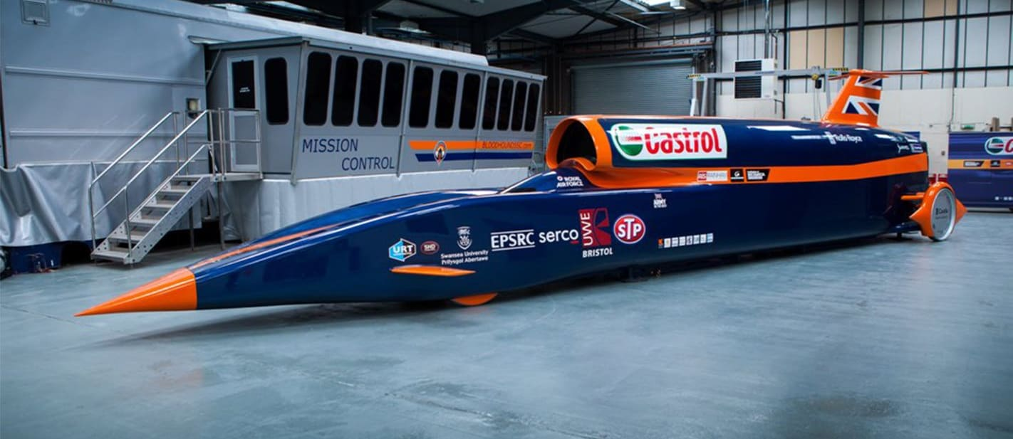 Inside the Bloodhound SSC