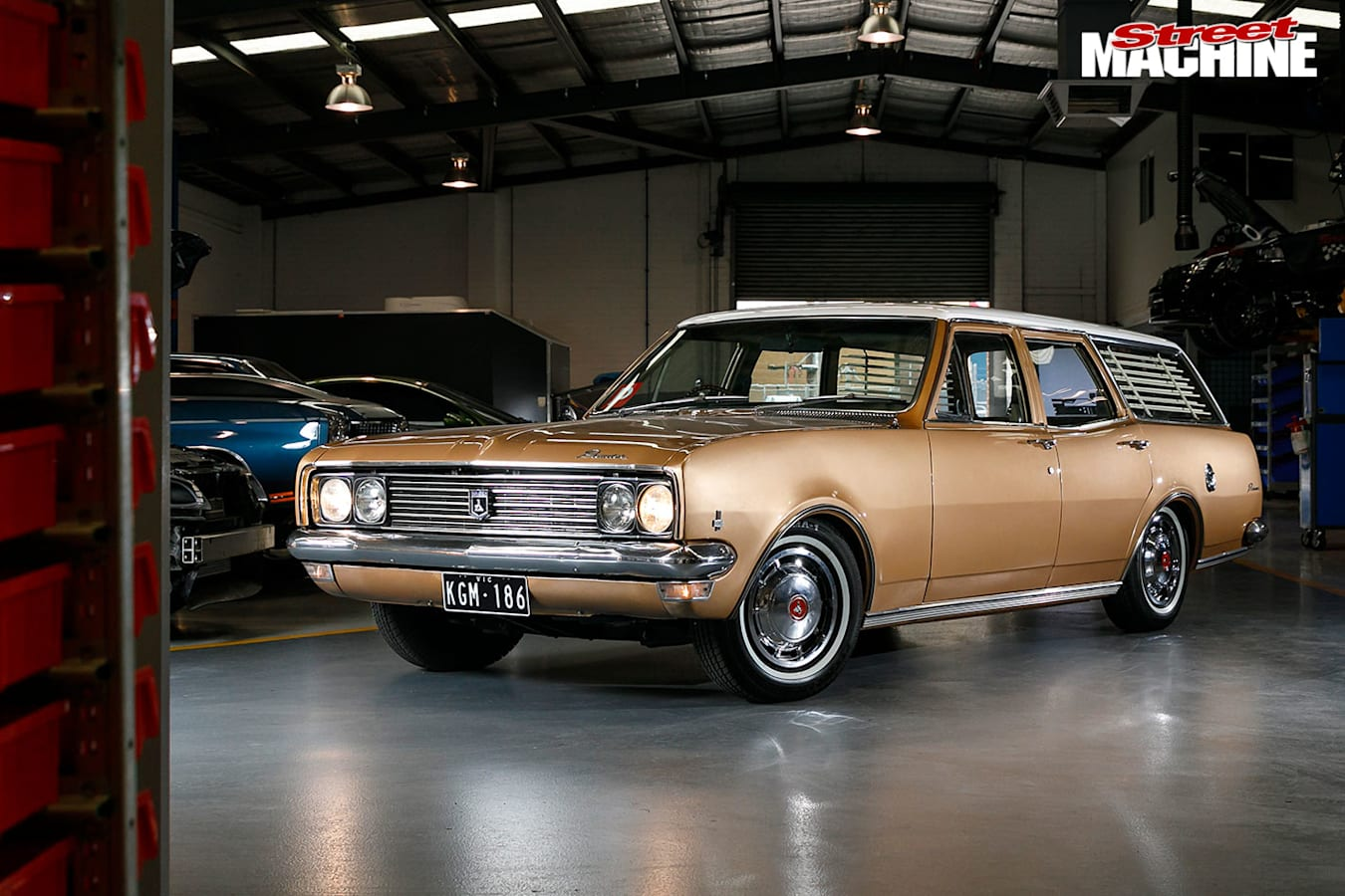 Holden HG wagon front