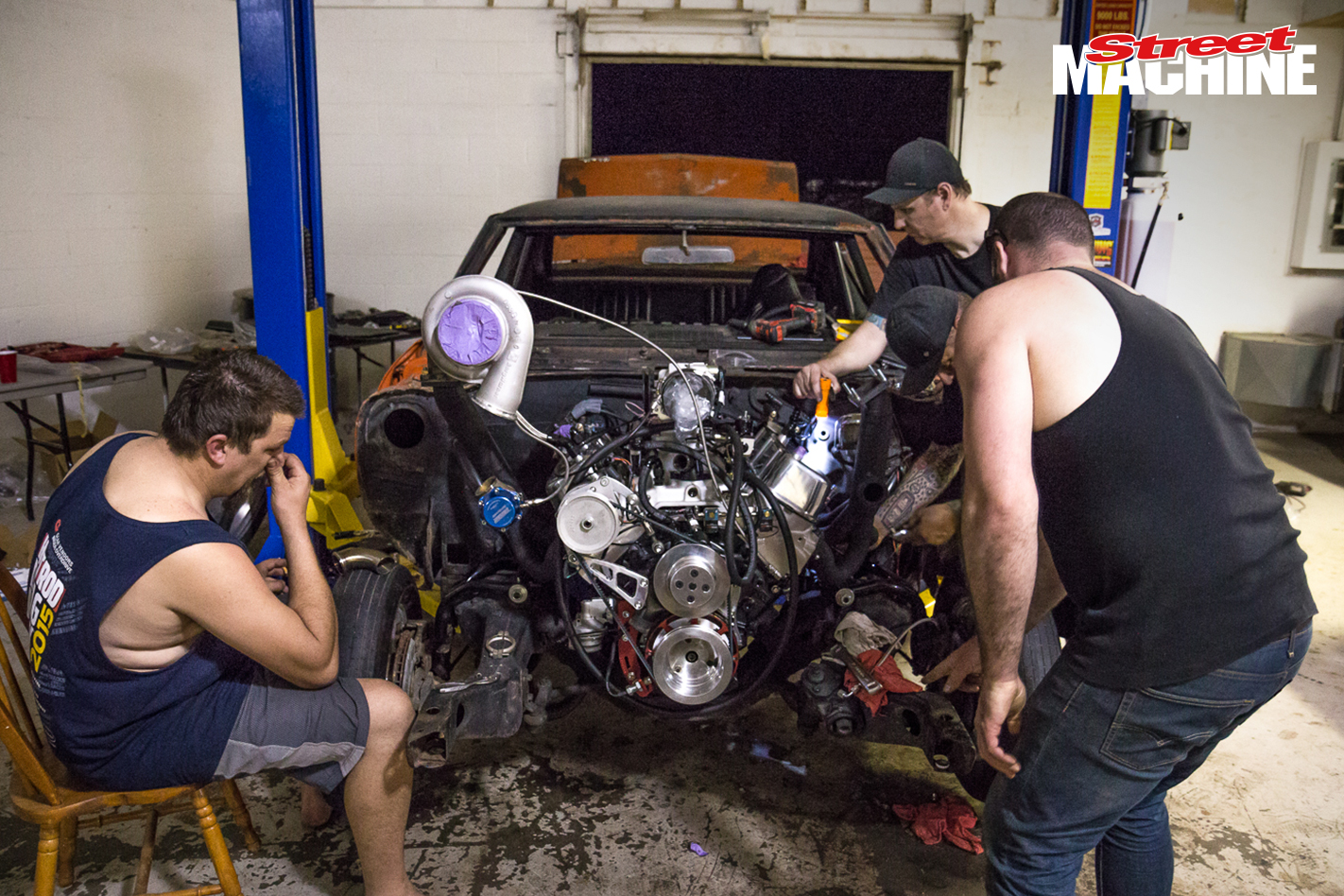 Chevy Chevelle Big Block Twin Turbo Drag Week 5