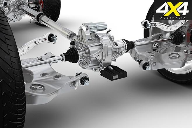 Range Rover sport axle