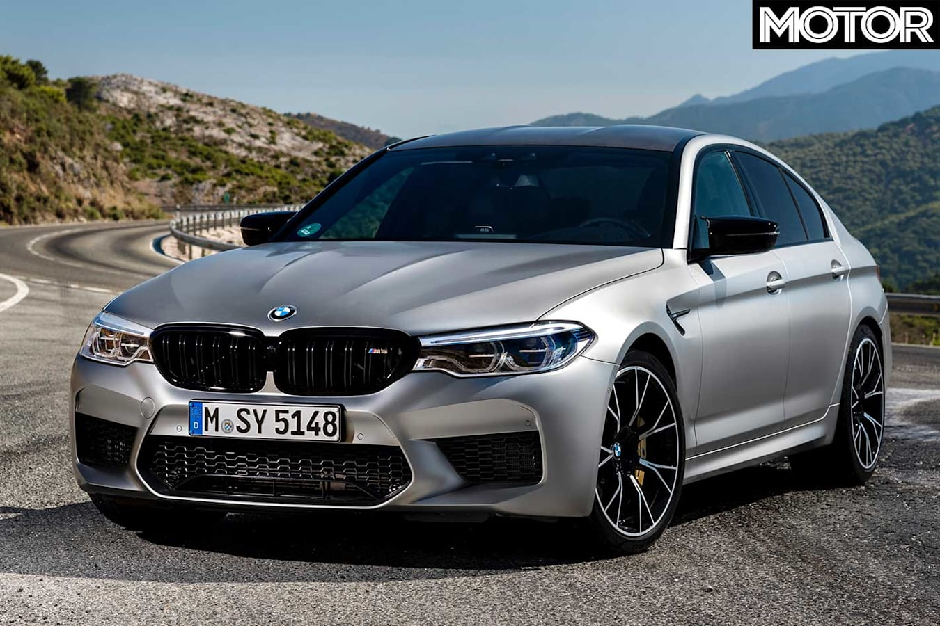 BMW M 5 Competition Front Jpg