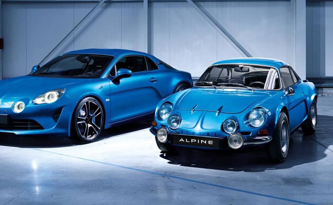 History of the Alpine A110 feature