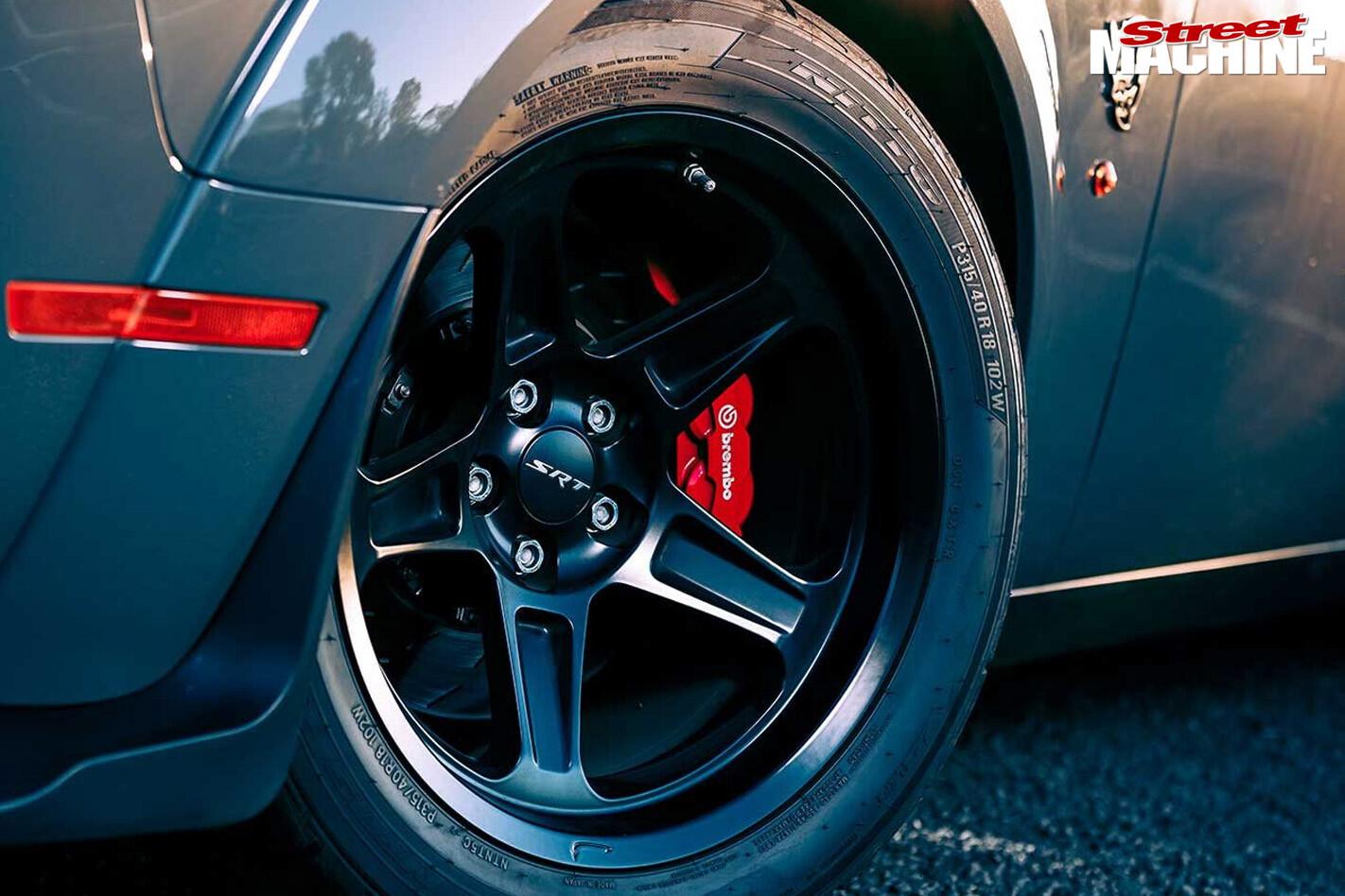 Dodge SRT brakes