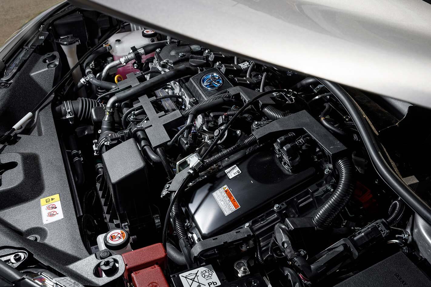Toyota C-HR engine bay