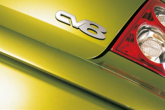 Holden Monaro CV8 badge